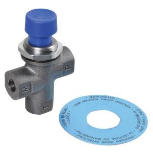MP Filtri Manometer ontlastklep EM-1-A-G-50-A - EM1 | 1/4' BSP