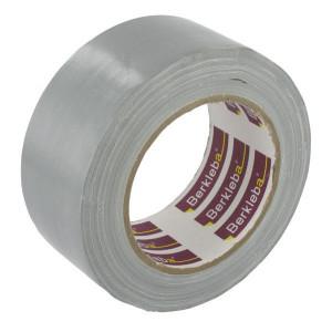 Berkleba Tape waterv. katoen 50mm grijs - EM2010 | Gebruiksvriendelijk