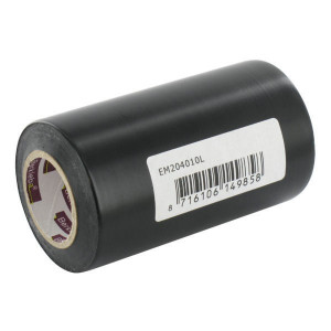 Isolatieband zwart 100x10m - EM204010L | Vlamvertragend | Veilig | 100 mm