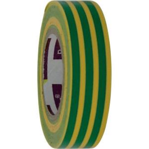 Berkleba Isolatieband geel/groen 15x10m - EM204016 | Vlamvertragend | Veilig | Geel / groen