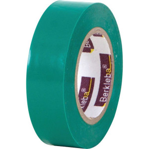 Berkleba Isolatieband groen 15x10m - EM20403L | Vlamvertragend | Veilig