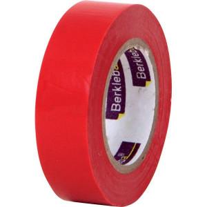 Berkleba Isolatieband rood 15x10m - EM20404 | Vlamvertragend | Veilig