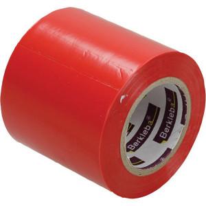Berkleba Tape voor silofolie rood 50x10m - EM20407 | Vlamvertragend | Veilig