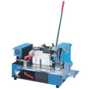 Uniflex Slang-afkortmachine - EM2 | CE-conform | Mes HSS, 275 x 3 x 30 | Elektromotor 3 kW 400V | Handmatig