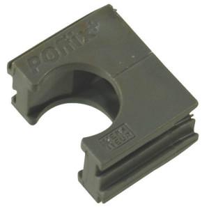 Klemarretering 19 mm 3/4 grijs - EM312028 | 3/4 Inch