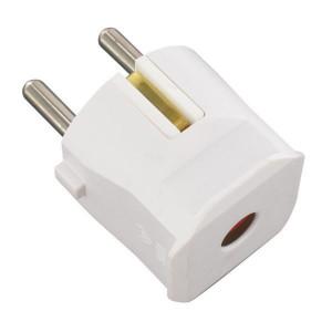 Stekker wit m/randaarde - EM4515420
