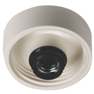Plafondlamphouder 60W wit - EM4516044