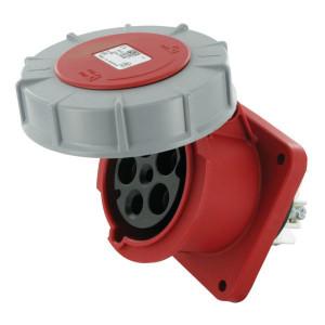 Inbouwstekkerdoos CEE 5-P 63A - EM633356 | Anti-knik | Langere levensduur | 380 415 V | 44 IP | 100x100 mm