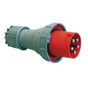 CEE-stekker 125A, 5P - EM80456 | 4 of 5-polig | 380 415 V | 44 IP