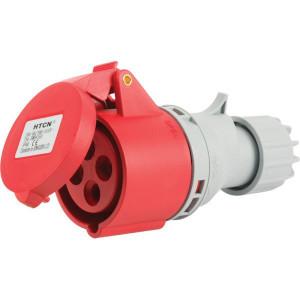 Gopart Stekker 16AMP.4-P. CEE - EM84163 | 380 415 V | 44 IP