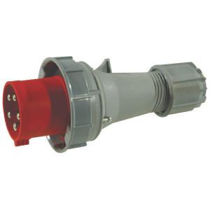 Gopart Stekker+wartel 63A 5-P CEE - EM850356 | Anti-knik | Langere levensduur | 380 415 V | 44 IP