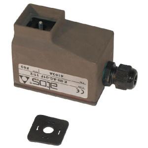 Proportionele versterker asym. 0-20 mA - EMIAC01FRR | Kleine inbouwruimte | Min. 9 DC V | Max. 9 DC V