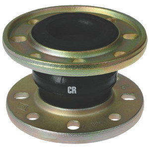 ELAFLEX Koppeling Ø 100 mm - ERVCR100 | Eenvoudige toepassing | ERV-CR | 220 mm | 16 bar | 100 mm | 130 mm | 8 x 18 mm | 180 mm | 125 cm² | 100 150 mm | ± 30 mm | ± 20 ° ° | 100 Nm