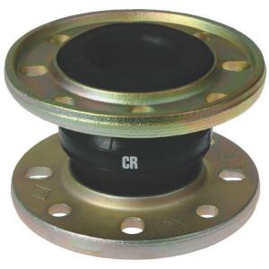 ELAFLEX Koppeling Ø 150 mm - ERVCR150 | Eenvoudige toepassing | ERV-CR | 285 mm | 16 bar | 150 mm | 130 mm | 8 x 22 mm | 240 mm | 250 cm² | 100 150 mm | ± 30 mm | ± 20 ° ° | 100 Nm