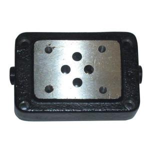 Eurofluid Voetplaat 3/8 ONDERAANSL. NG06 - ES3A38P | Max. 35 l/min | 35 l/min | 95 mm | 1.000 g | 3/8 BSP | Bottom port