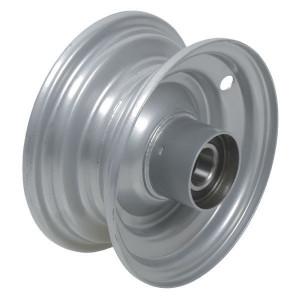 "Velg met lager - F125062590 | 2.50 x 6"" | 174 mm | 82 mm | 62052RS | Alu Ral 9006"