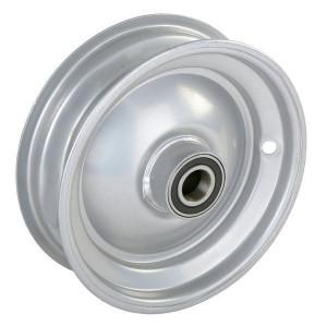 "Velg met lager - F125082588 | 2.50 x 8"" | 224 mm | 73 mm | 62052RS | Alu Ral 9006"