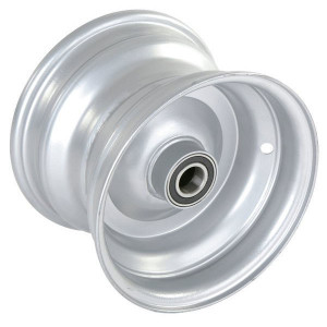 "Velg met lager - F155082590 | 5.50 x 8"" | 225 mm | 160 mm | 62052RS | Alu Ral 9006"