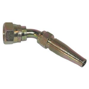 Schroefpilaar DN06-1/4 BSP-45° - F6445 | Verzinkt | 42,8 mm | 5,3 mm | 4,3 mm | 13,3 mm | 19,0 mm | 67,6 mm | 1/4 Inch | 6 mm | 1/4 BSP