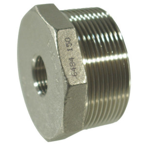 "Verloop RVS bi 1/4"" x bu 1/2"" - FG2411214RVS 