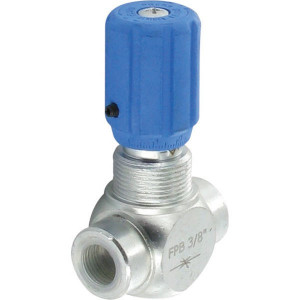 """FluidPress Smoring FPB 30L 3/8 BSP - FPB05001   Snelheidsregeling   Fijnafstelling   1/4"""" 3/4"""" BSP   300 bar   30 l/min   3/8 BSP   300 bar"""