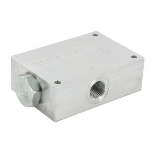 FluidPress Stroomverdeler 1/2-3/8 50-75 liter - FPFDS12CB12A12 | Max. druk 250 Bar | 115 mm | 75 l/min | 53,3 mm | 78.3 mm | 8 mm | 50-75 l/min | 1/2 BSP | 1/2 BSP | 99 mm | 64 mm | 10.7 mm