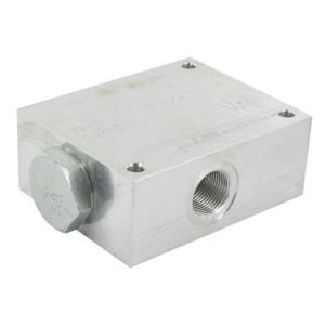 FluidPress Stroomverdeler 115-150 L 3/4ST - FPFDS16CB1E34ST | 125 mm | 150 l/min | 100 mm | 54,3 mm | 82.8 mm | 10 mm | 115-150 l/min | 1 BSP | 3/4 BSP | 105 mm | 80 mm | 12.7 mm | 350 bar