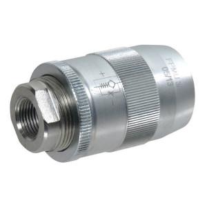 "FluidPress Smoorterugslagventiel 3/8 BSP - FPMU05001   Grofafstelling   0,5 bar   1/4"" 1"" BSP   350 bar   30 l/min   3/8 BSP   350 bar"