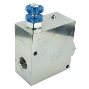 FluidPress 3-wegstroomregelklep 1 150-24 - FPRF1ST | BSP-binnendraad | 1 BSP | 189,5 mm | Without safety valve | Handwiel | 240 l/min | 240 l/min