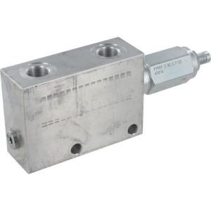 "FluidPress Reduceerventiel 3/8 - FPRPUD05001 | Aluminium | 100 mm | Inbusschroef | 30 l/min | 3/8"" BSP"
