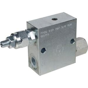 FluidPress Volgordeventiel staal 3/8 - FPSQD05001ST   Inbusschroef   40 l/min   350 bar