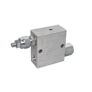 FluidPress Volgordeventiel 1/2 - FPSQD10001   Aluminium   Inbusschroef   40 l/min   350 bar