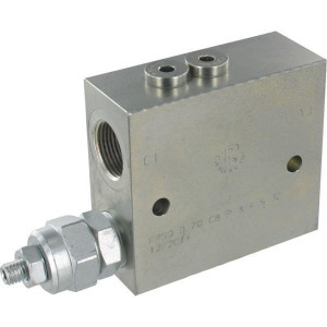 FluidPress Volgordeventiel staal 3/4 - FPSQD20001ST   100 mm   Inbusschroef   80 l/min   350 bar