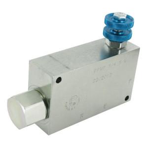 FluidPress 3-Wstroomregelventiel 90-150 ST - FPVP34ST | BSP-binnendraad | 3/4 BSP | Handrad | 150 l/min