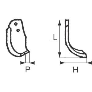 Freesmessen - Braun - RB09011 | 98 mm | 80 mm | 7 mm | 30 mm | 14,5 mm | 42 mm | 0,9 kg