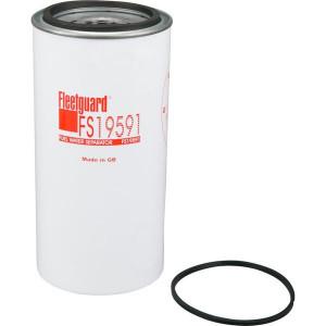 Fleetguard Brandstof-waterafscheider - FS19591 | 107 mm | 110.5 mm | 1-14 UNS-2B G