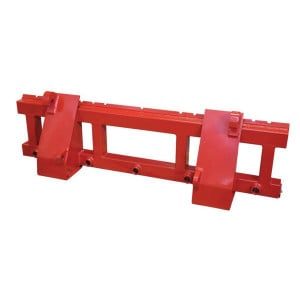 xx Hoofdframe voor palletlepel - FT3155 | Levering zonder tanden | 80x80 mm | 250 mm | 1555 mm | 2000 kg | 500 mm | FEM 2A | 407 mm
