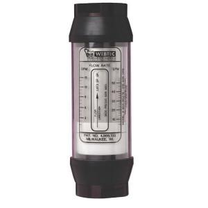 "Webtec Flowmeter 15-190 l/m 1.1/2""BSP - FTWPB5A6HY50 | 240 bar | 0 115 | 550 l/min | 1 1/2 BSP Inch | 15 190 l/min"