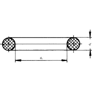 Arag O-ring 185 x 6 NBR - G11065
