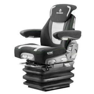 Grammer Zitting Maximo Evolution Dynamic New Design - G1288766 | Voor zware trekkers | MSG95EL/741 | Stof klima New Design | Antraciet | 598 mm | 737 770 mm