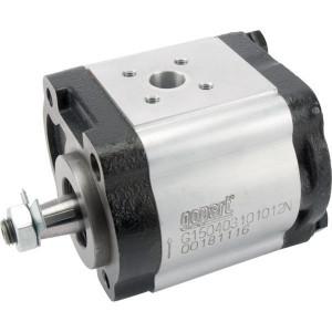 Gopart Hydrauliekpomp 11,3cc - G150403101012N | 11,3 cc/omw | 250 bar p1 | 280 bar p2 | 300 bar p3 | 3500 Rpm omw./min. | 600 Rpm omw./min. | 106,4 mm | 106,4 mm | 44,5 mm | 40 mm | 35 mm