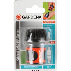 """Gardena Snelkoppeling + waterstop 3/4"""" - GA1172"""