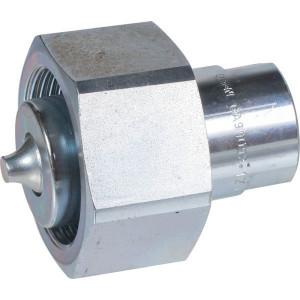 Snelkoppeling male DN12-M30x1,5 - GA9009212 | Verzinkt | 100 l/min | M30x1,5 A | 76,8 mm | 420 bar