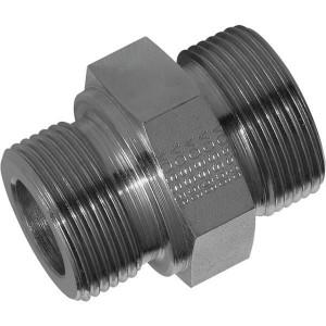 "Voss Koppeling 18L R1/2 - GES18LR12 | 1/2"" BSP | 400 bar | 18 mm | 14,0 mm | 14,5 mm | M26 x 1,5 metrisch"