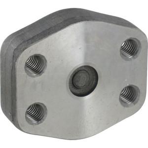 """Oleo Tecnica SAE blinde tegenflens - GFC612M   Pompen Motoren   414 bar   3/4""""   50,8 mm   23,8 mm   M10x35   0,46 kg"""