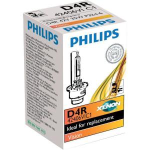 Philips Xenonlamp D4R Vision - GL42406VIC1 | 35 W | P32d-6 | 2500 Uur | 4400K K | 2800 ±450