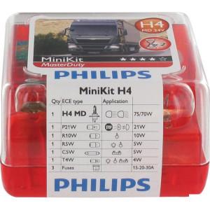 Philips Gloeilampenset H4 24V - GL55554SKMDKM
