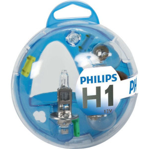 Philips Gloeilampenset H1 12V - GL55717EBKM | 0.525 kg