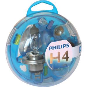 Philips Gloeilampenset H4 12V - GL55718EBKM | 0.605 kg
