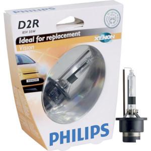 Philips Xenonlamp D2R Vision - GL85126VIS1 | 35 W | P32d-3 | 2500 Uur | 4400 K | 2900 ±300 | 0.2 kg